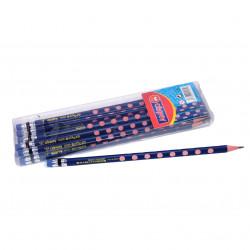 مجموعة أقلام رصاص من أميجو 12 قطعة لون أزرق