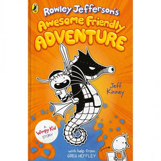 قصص مغامرة رولي جيفرسون الودية المخيفة, بغلاف مقوى من بينجوين