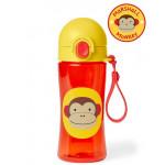 Skip Hop Zoo Lock Top Sports Monkey Bottle