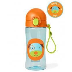 Skip hop Zoo Lock Top Dog Sports Bottle